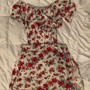 Rose Long Summer Dress